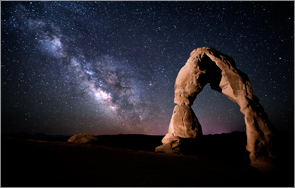Arches National Park 2014 Night Sky Photography Workshop