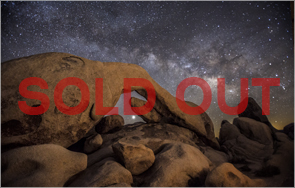Joshua Tree National Park 2014 Night Sky Photography Workshop