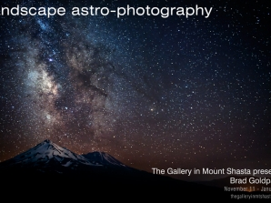 Landscape Astro-Photography Exhibition: Presenting the original works of Brad Goldpaint