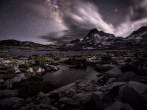 Photograph the Milky Way with Moonlight