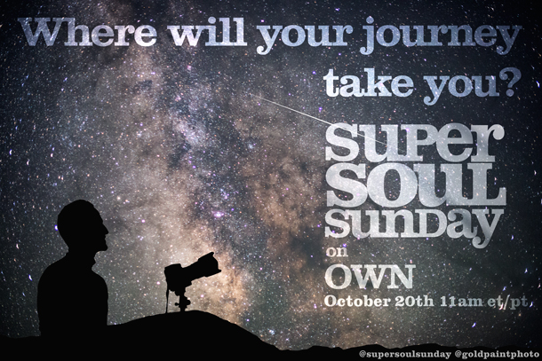 "Oprah Winfrey's Emmy award winning series, ""Super Soul Sunday"", an original short featuring Brad Goldpaint"