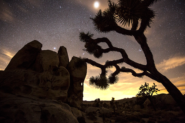 Hidden Valley in Joshua Tree National Park