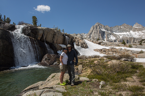 Waterfall in the High Sierra