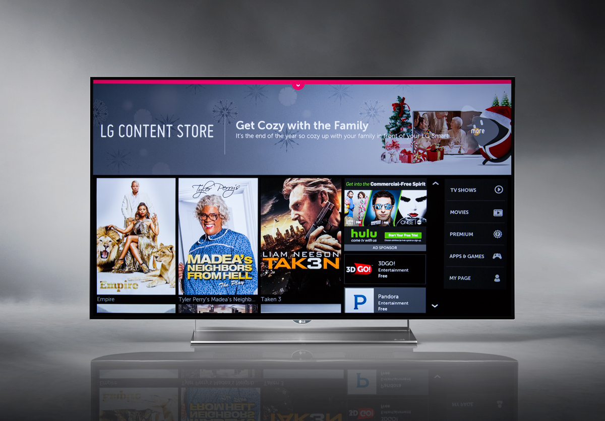 LG 55EF9500 OLED 4K Smart TV - LG Store Screen Capture