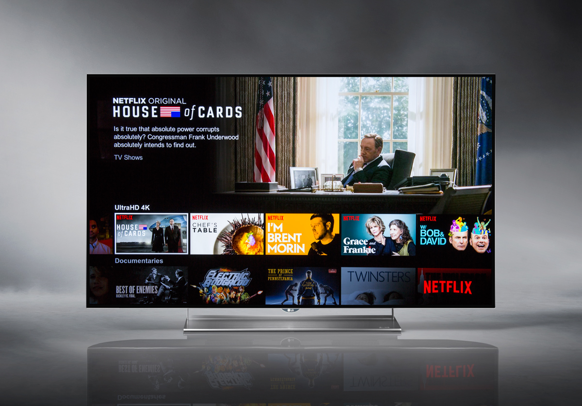 LG 55EF9500 OLED 4K Smart TV - Netflix Screen Capture