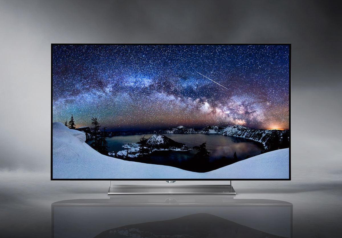 LG 55EF9500 OLED 4K Smart TV - Slideshow Screen Capture