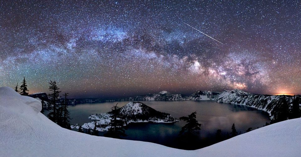 Crater Lake Night Sky Photography Workshop Goldpaint
