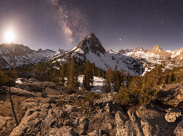 Night Photography Video Tutorials - Moonlit Panorama