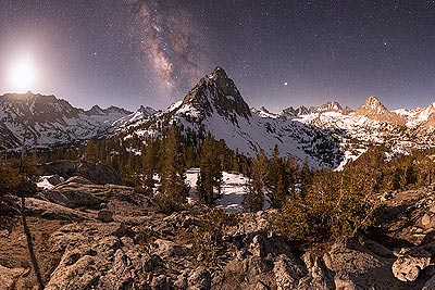 Night Photography Video Tutorials - Moonlit Panorama