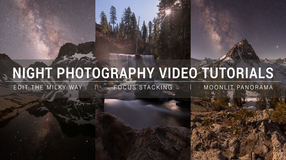 Night Photography Video Tutorials