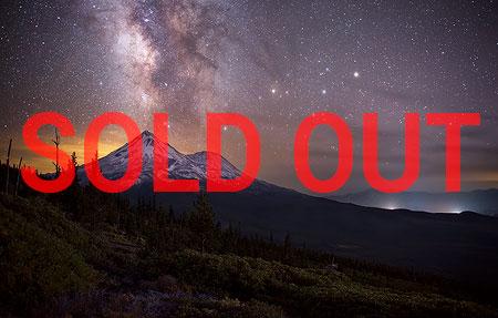 Mount Shasta Night Sky Photography Workshop