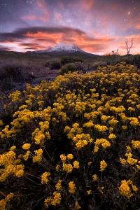 Moonrise-over-Mount-Shasta
